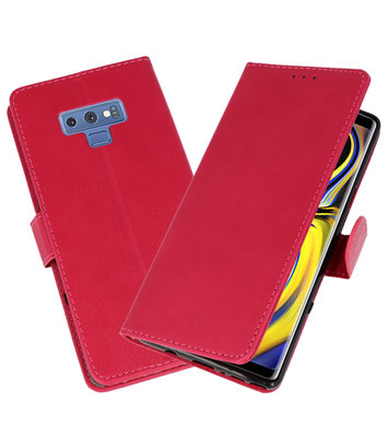 Roze Bookstyle Wallet Cases Hoesje voor Samsung Galaxy Note 9