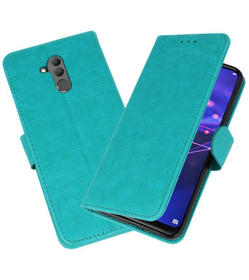 Wallet Cases Hoesje voor Huawei Mate 20 Lite Groen