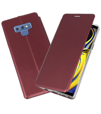 Slim Folio Case voor Samsung Galaxy Note 9 Bordeaux Rood