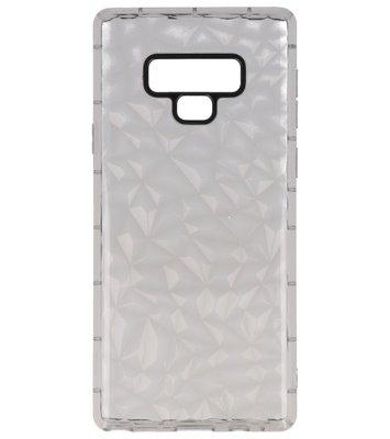 Grijze Geometric Style Siliconen Hoesje Galaxy Note 9