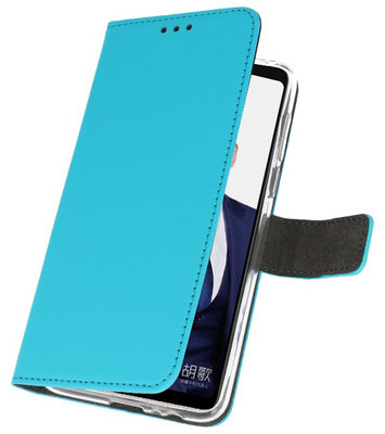 Wallet Cases Hoesje voor Huawei Note 10 Blauw