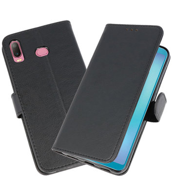Bookstyle Wallet Cases Hoesje voor Samsung Galaxy A6s Zwart