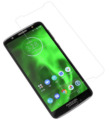 Tempered Glass voor Motorola Moto G6 Plus