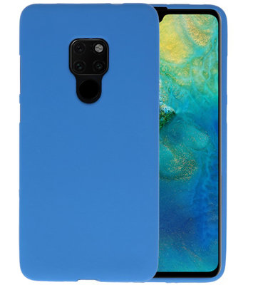 Color TPU Hoesje voor Huawei Mate 20 Navy