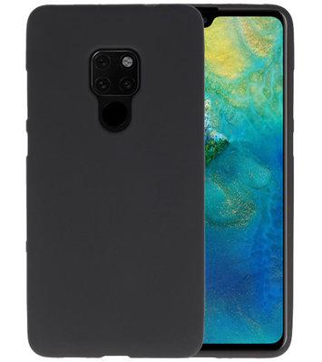 Color TPU Hoesje voor Huawei Mate 20 Zwart