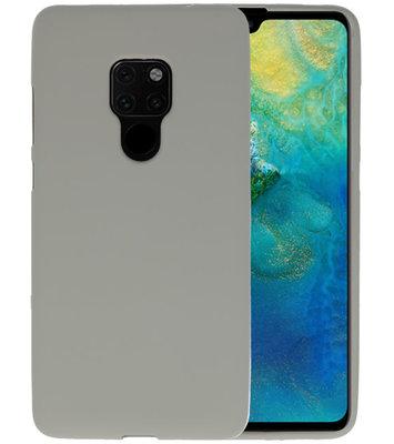Color TPU Hoesje voor Huawei Mate 20 Grijs
