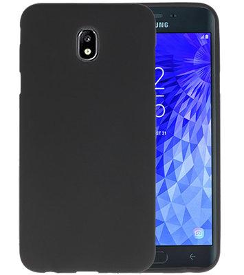 Color TPU Hoesje voor Samsung Galaxy J7 2018 Zwart