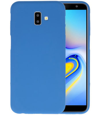Color TPU Hoesje voor Samsung Galaxy J6 Plus Navy