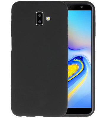 Color TPU Hoesje voor Samsung Galaxy J6 Plus Zwart