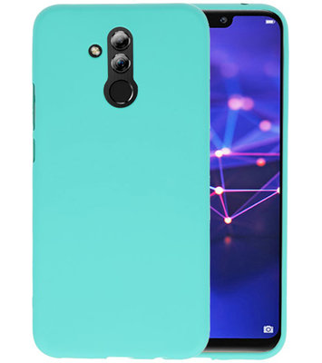 Color TPU Hoesje voor Huawei Mate 20 Lite Turquoise