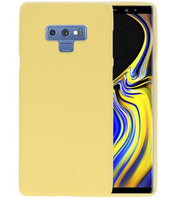 Color TPU Hoesje voor Samsung Galaxy Note 9 Geel