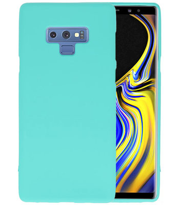 Color TPU Hoesje voor Samsung Galaxy Note 9 Turquoise