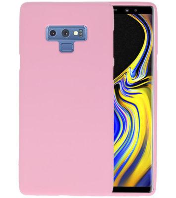 Color TPU Hoesje voor Samsung Galaxy Note 9 Roze