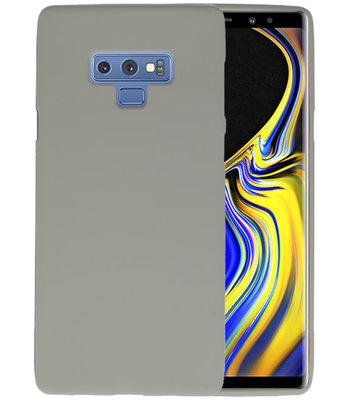 Color TPU Hoesje voor Samsung Galaxy Note 9 Grijs