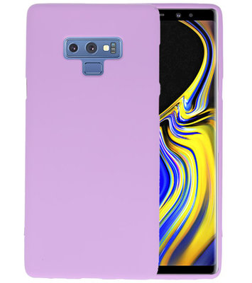 Color TPU Hoesje voor Samsung Galaxy Note 9 Paars