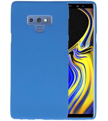 Color TPU Hoesje voor Samsung Galaxy Note 9 Navy