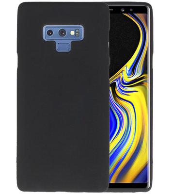 Color TPU Hoesje voor Samsung Galaxy Note 9 Zwart