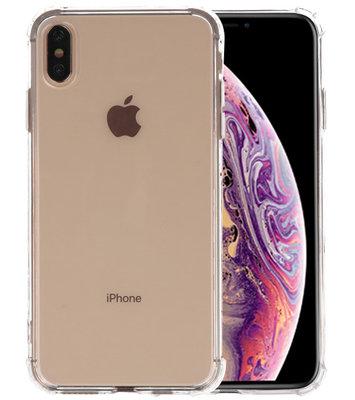 Schokbestendig transparant TPU hoesje voor iPhone XS Max