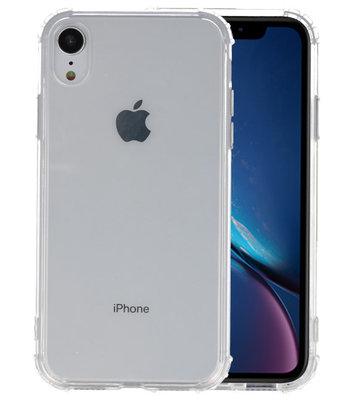 Schokbestendig TPU hoesje voor iPhone XR Transparant
