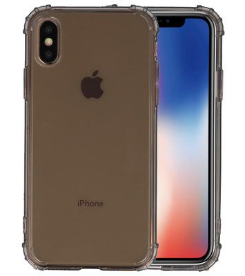 Schokbestendig TPU hoesje voor iPhone XS Grijs