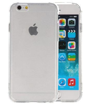 Schokbestendig TPU hoesje voor iPhone 6 Transparant
