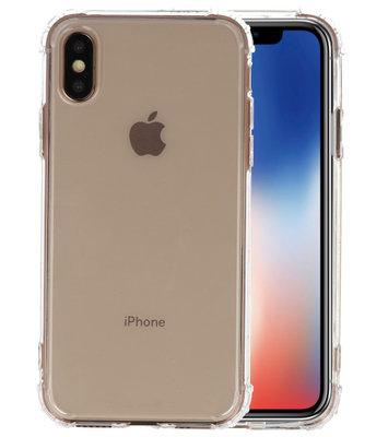 Schokbestendig TPU hoesje voor iPhone XS Transparant