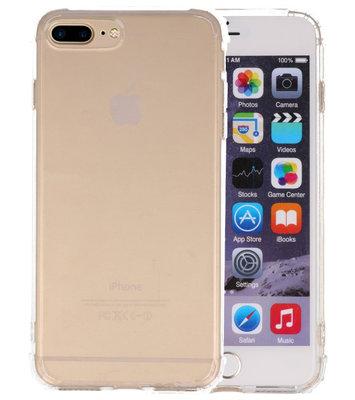 Schokbestendig TPU hoesje voor iPhone 8 / 7 Plus Transparant