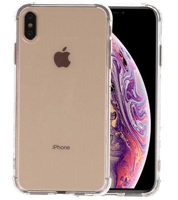 Schokbestendig TPU hoesje voor iPhone XS Max Transparant