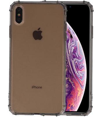 Schokbestendig TPU hoesje voor iPhone XS Max Grijs