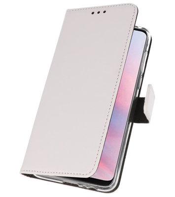 Wallet Cases Hoesje voor Huawei Y9 2019 Wit