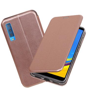 Slim Folio Case voor Samsung Galaxy A7 2018 Roze