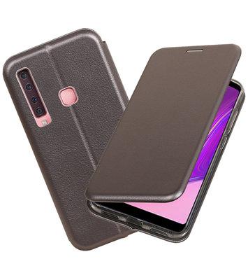 Slim Folio Case voor Samsung Galaxy A9 2018 Grijs