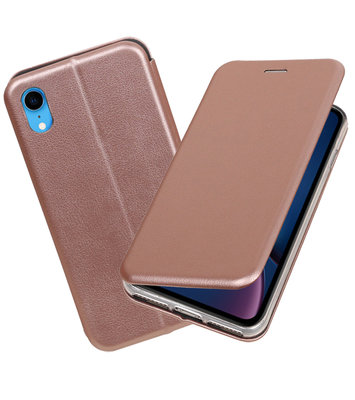 Slim Folio Case voor iPhone XR Roze