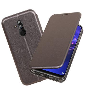 Slim Folio Case voor Huawei Mate 20 Lite Grijs