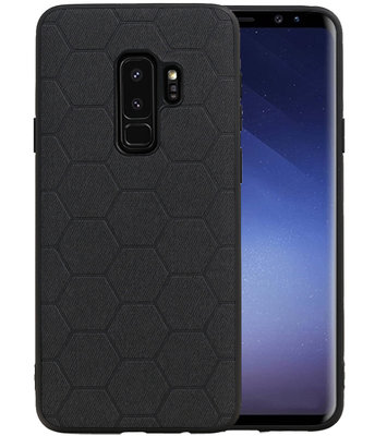Hexagon Hard Case voor Samsung Galaxy S9 Plus Zwart