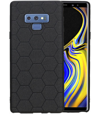 Hexagon Hard Case voor Samsung Galaxy Note 9 Zwart