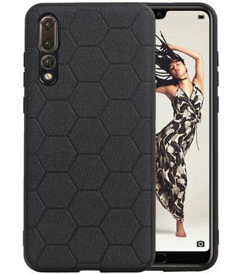 Hexagon Hard Case voor Huawei P20 Pro Zwart