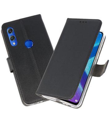 Wallet Cases Hoesje voor Huawei Honor 8X Zwart