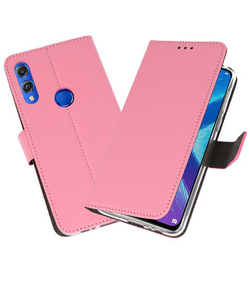 Wallet Cases Hoesje voor Huawei Honor 8X Roze