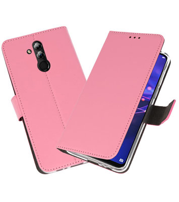 Wallet Cases Hoesje voor Huawei Mate 20 Lite Roze