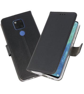 Wallet Cases Hoesje voor Huawei Mate 20 X Zwart