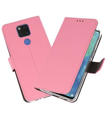 Wallet Cases Hoesje voor Huawei Mate 20 X Roze
