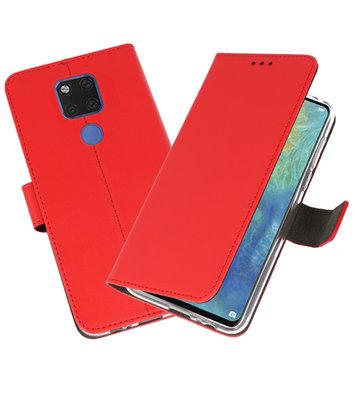 Wallet Cases Hoesje voor Huawei Mate 20 X Rood