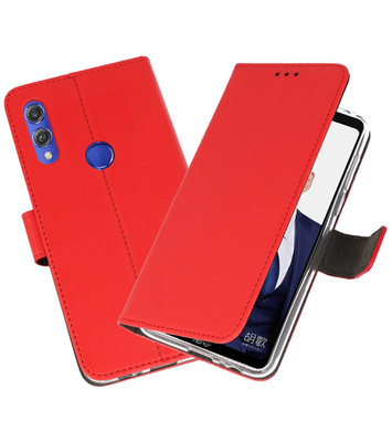 Wallet Cases Hoesje voor Huawei Note 10 Rood