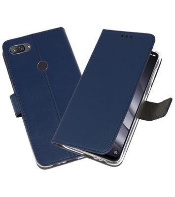 Wallet Cases Hoesje voor XiaoMi Mi 8 Lite Navy