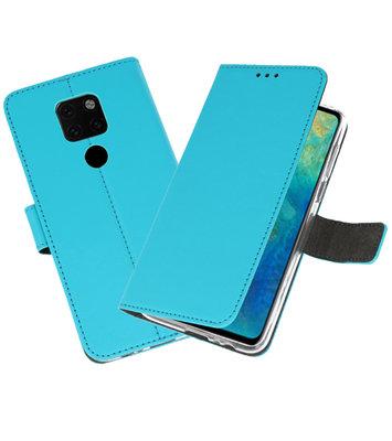 Wallet Cases Hoesje voor Huawei Mate 20 Blauw