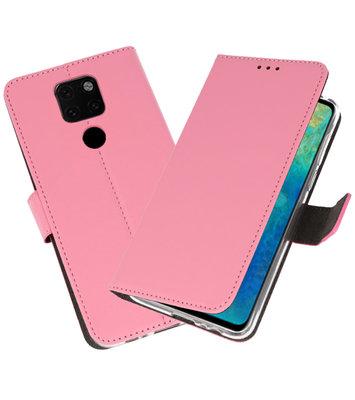 Wallet Cases Hoesje voor Huawei Mate 20 Roze