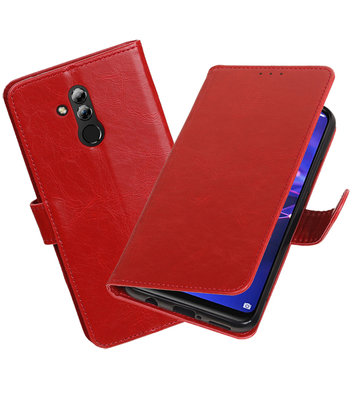 Hoesje voor Huawei Mate 20 Lite Pull-Up Booktype Rood