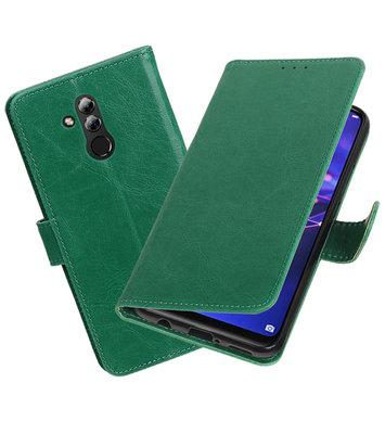 Hoesje voor Huawei Mate 20 Lite Pull-Up Booktype Groen