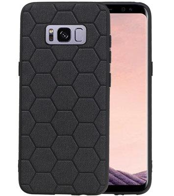 Hexagon Hard Case voor Samsung Galaxy S8 Zwart